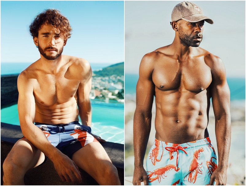Granadilla: cool swimwear inspired by Clifton Beach's ice-lolly