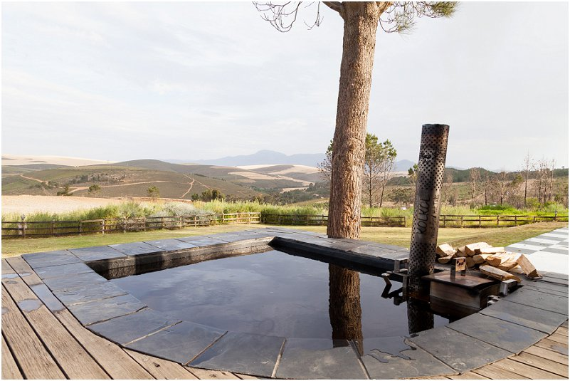 private jacuzzi accommodation western cape