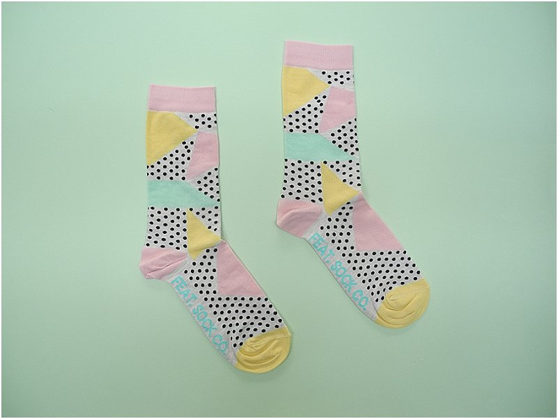 FEAT. sock co.: Colourful, funky socks made in Cape Town