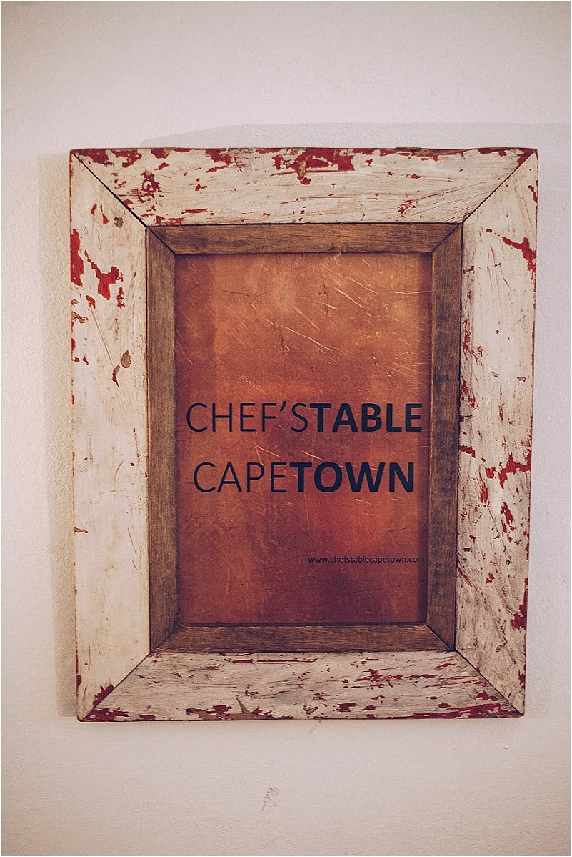 Chef's Table Cape Town