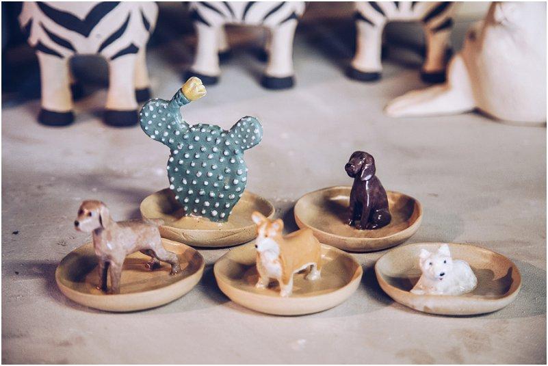 Diere geïnspireerde keramiek