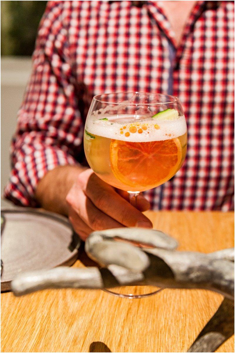 gin cocktail, vorsprung studio photography