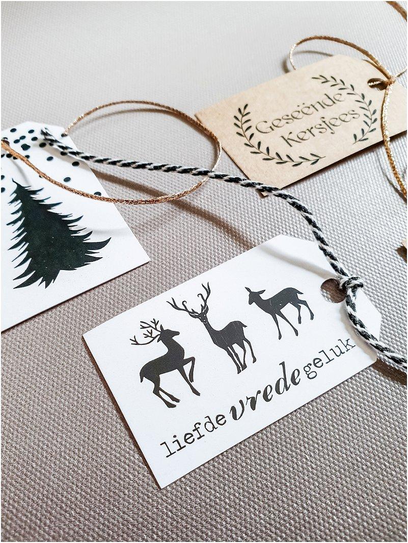 Free Christmas Name Cards