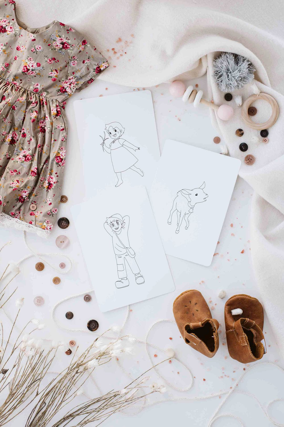 Custom line illustrations